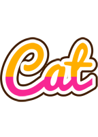 Cat smoothie logo