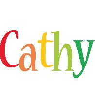 Cathy birthday logo