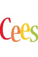 Cees birthday logo