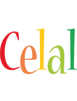 Celal birthday logo