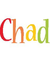 Chad birthday logo