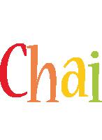 Chai birthday logo