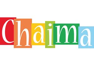 Chaima colors logo