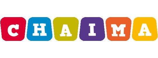 Chaima kiddo logo