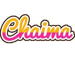 Chaima smoothie logo