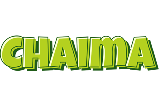 Chaima summer logo