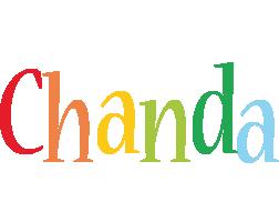 Chanda birthday logo