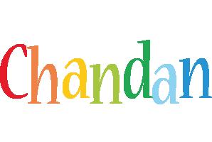 Chandan birthday logo