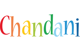 Chandani birthday logo