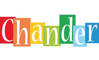 Chander colors logo