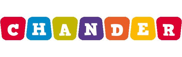 Chander kiddo logo