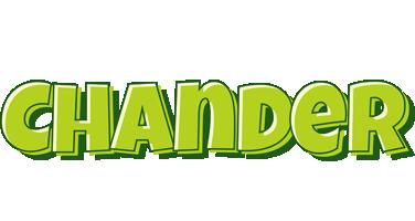 Chander summer logo