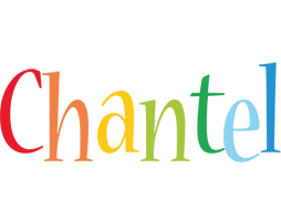 Chantel birthday logo