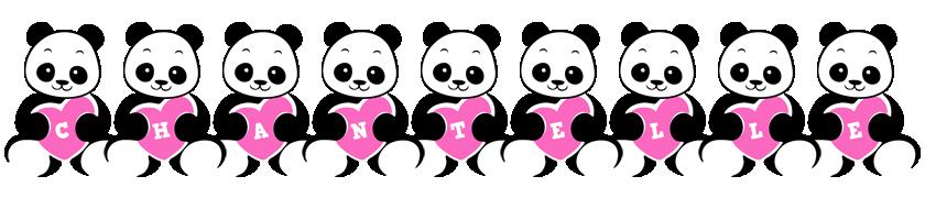 chantelle logo name logo generator popstar love panda