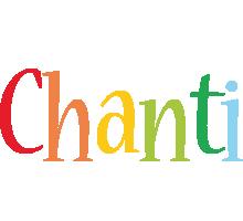 Chanti birthday logo