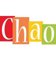 Chao colors logo