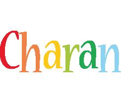 Charan birthday logo