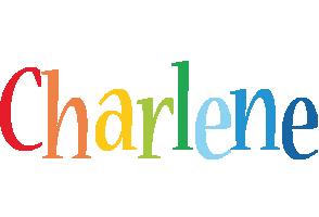 Charlene birthday logo