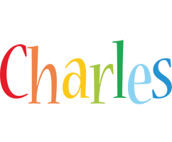 Charles birthday logo