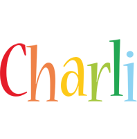 Charli birthday logo