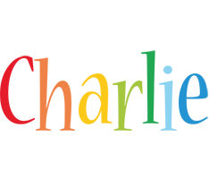 Charlie birthday logo