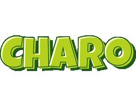 Charo summer logo
