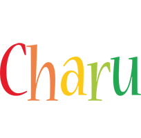 Charu birthday logo
