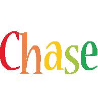 Chase birthday logo