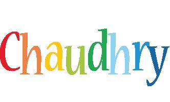 Chaudhry birthday logo