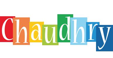 Chaudhry colors logo