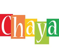Chaya colors logo