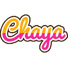 Chaya smoothie logo