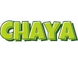 Chaya summer logo