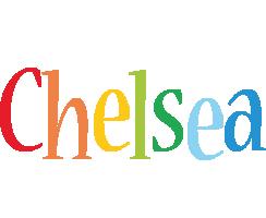 Chelsea birthday logo