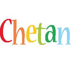 Chetan birthday logo