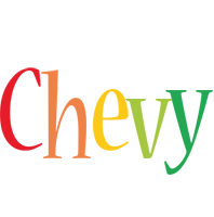 Chevy birthday logo