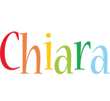 Chiara birthday logo