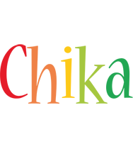 Chika birthday logo