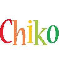 Chiko birthday logo