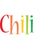 Chili birthday logo