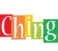 Ching colors logo