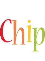 Chip birthday logo