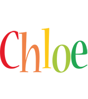 Chloe birthday logo