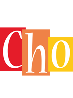 Cho colors logo