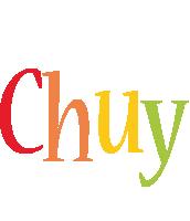 Chuy birthday logo