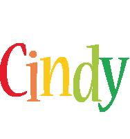 Cindy birthday logo