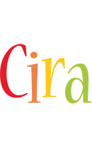 Cira birthday logo