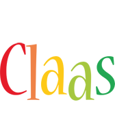 Claas birthday logo