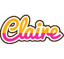 Claire smoothie logo