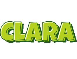 Clara summer logo